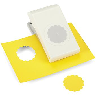 Nesting Paper Punch Scallop Circle 1.5