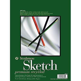 Strathmore Premium Recycled Sketch Book 9