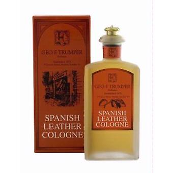 Geo F Trumper Spanish Leather Cologne Glass Bottle 100ml