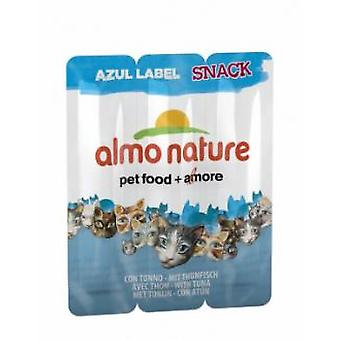 Almo nature Azul Label Snacks mit Thunfisch (Katzen , Snacks , Sticks)