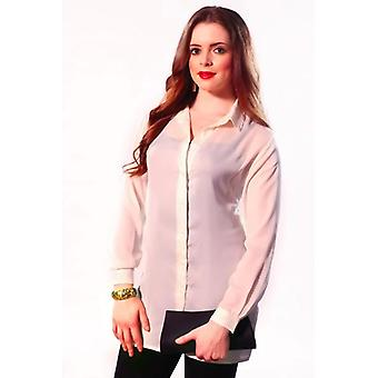Solid colour Blouse