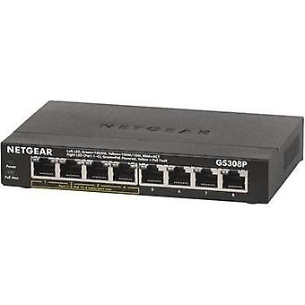 Network RJ45 switch Netgear GS308P 8 ports 1 Gbit/s