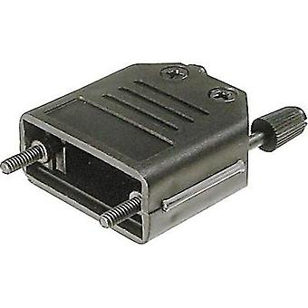 D-SUB housing Number of pins: 9 Plastic 180 ° Black ASSMANN WSW A-FT 09 1 pc(s)