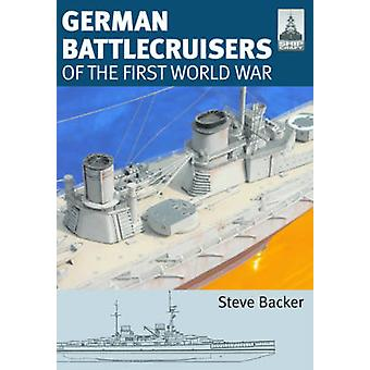 Shipcraft 22 German Battlecruisers by Steve Backer & Robert Brown