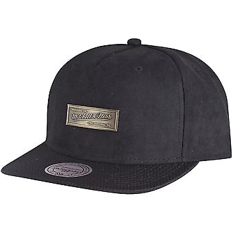 METAL BADGE network Mitchell & Ness Snapback Cap - Black