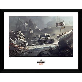 Świat czołgów niemieckich czołgów Collector Print