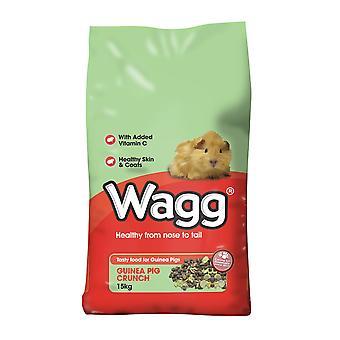 Wagg marsvin Crunch 15kg
