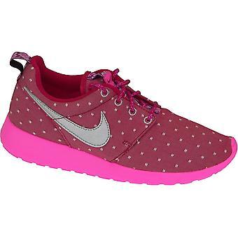 Nike Rosherun skrive Gs 677784-606 barna joggesko