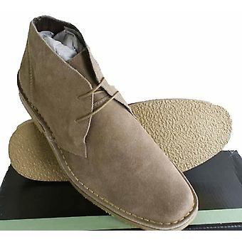 Roamers Real Suede Leather Mens Slim slightly rounded toed Mod style Desert Boots Size 6
