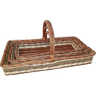 Set van 3 Windermere tuin Trugs