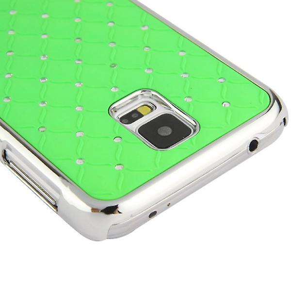 Hardcase green diamond case for Samsung Galaxy S5 G900 G900F