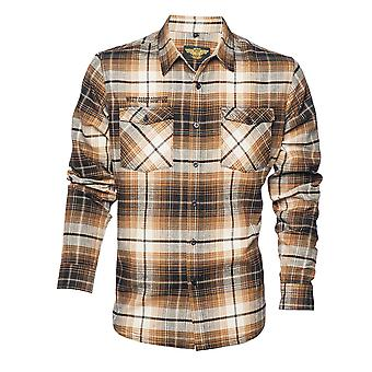 West Coast choppers skjorta El Diablo flanell Workshirt