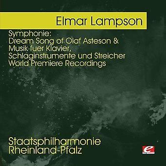 Elmar Lampson - Lampson: Symphonie - Dream Song di Olaf Asteson; Importazione USA Musik Fuer Klavier [CD]