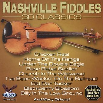 Nashville fumler - 30 Classics [CD] USA importerer