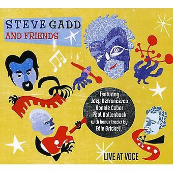 Steve Gadd & venner - Live på Voce [CD] USA import