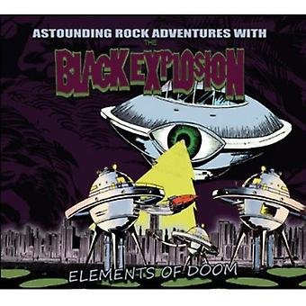 Black Explosion - Elements of Doom [CD] USA import