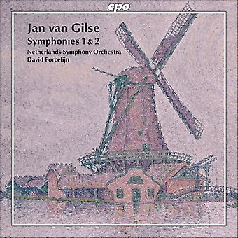 Jan Van Gilse - Jan Van Gilse: Import USA symfonie 1 & 2 [CD]