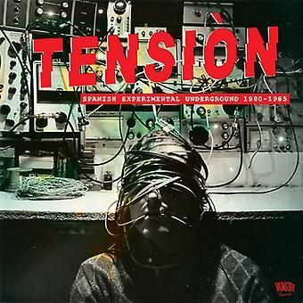 Tension: Spanish Experimental Underground 1980-85 - Tension: Spanish Experimental Underground 1980-85 [CD] USA import