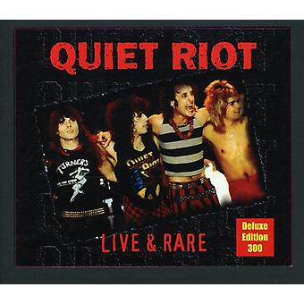Quiet Riot - Live & Rare-Deluxe Edition [CD] USA import