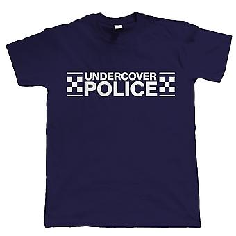 Undercover Police, Mens Funny T Shirt
