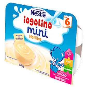 Nestlé Custard Iogolino Mini terrine. Nestle. 6 Units