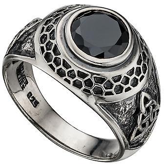 925 Srebrny pierścionek modne