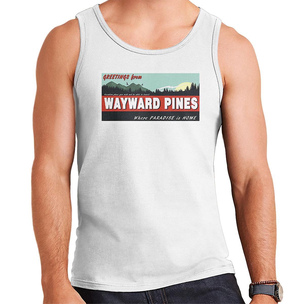 Where Paradise Is Home Wayward Pines Men's Vest