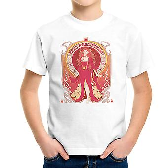 Melisandre Red Princess Game of Thrones Kid's T-Shirt