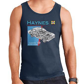 Haynes Besitzer Workshop manuelle 0171 Ford Escort 1300 Herren Weste
