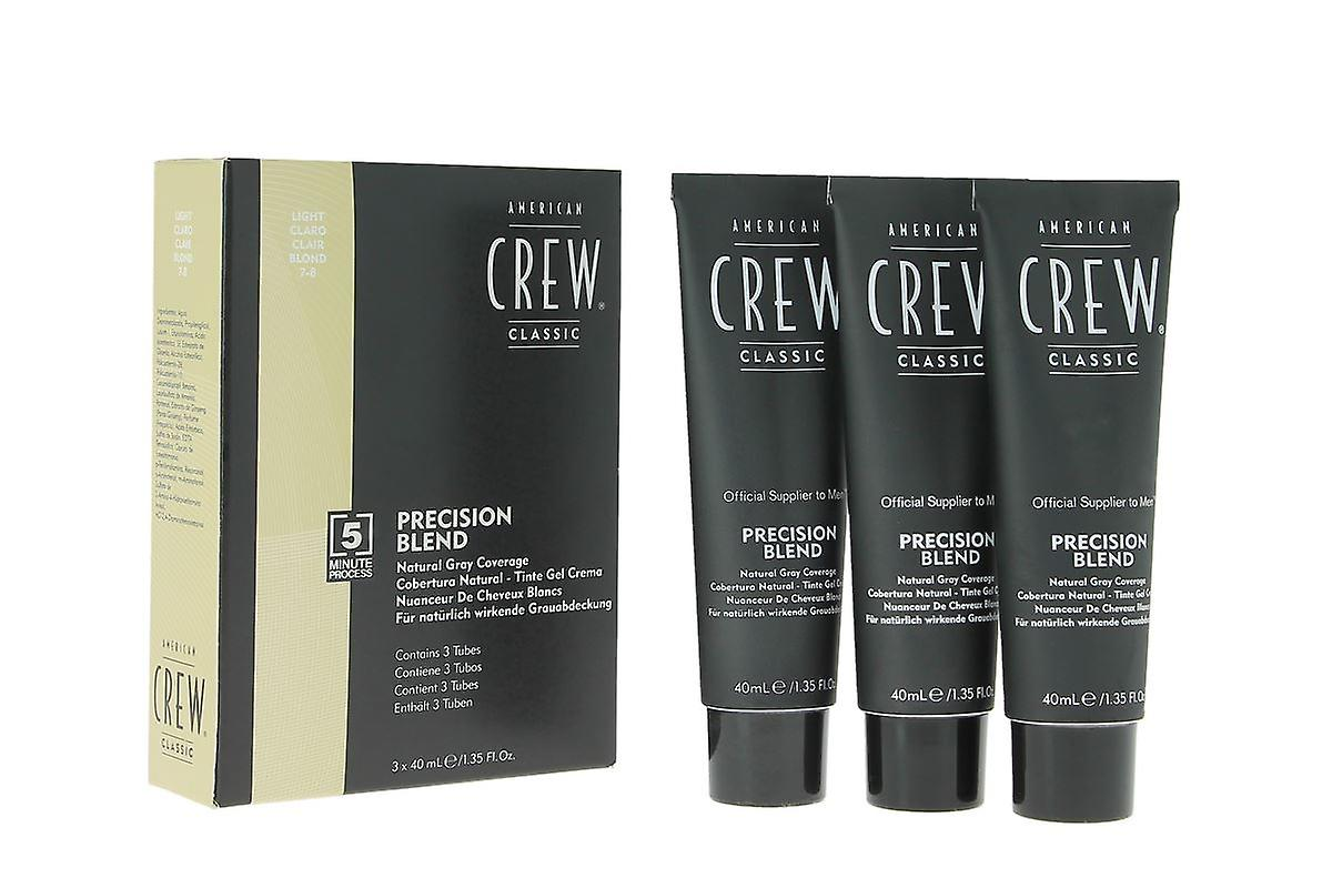 American Crew Precision Blend Hair Colour For Men Kit - Light