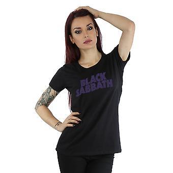 Black Sabbath kvinders nødlidende Logo T-Shirt