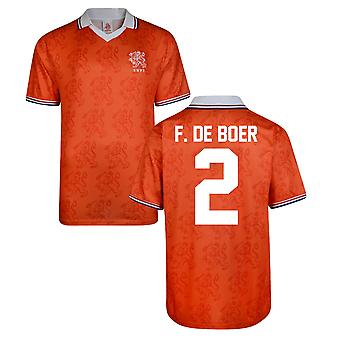 Partitur ziehen Holland World Cup 1994 Heimtrikot (F De Boer 2)