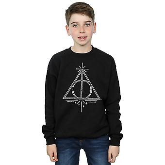 Harry Potter jungen Deathly Hallows Symbol Sweatshirt