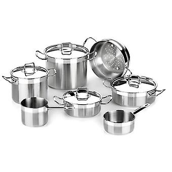 Bra 7 Pieces  Professional  stainless steel. Suitable Induction