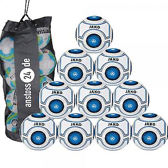 10 x James youth ball - Galaxy light includes ball sack
