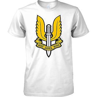 Special Air Service SAS - Who Dares Wins - Mens T Shirt