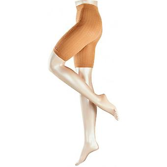 Falke Cellulite Control Panty Transparent Matte Tights - Powder Tan