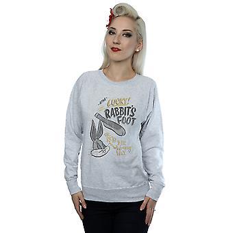 Looney Tunes Women's Bugs Bunny Rub Me The Wrong Way Sweatshirt
