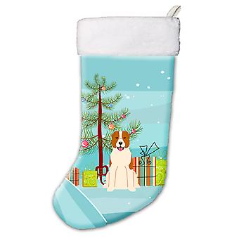 Merry Christmas Tree Central Asian Shepherd Dog Christmas Stocking