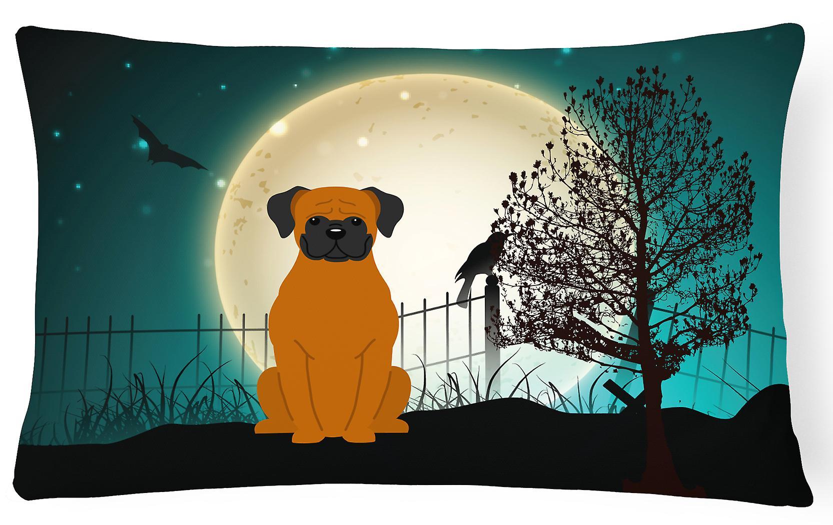 Fauve Décoratif Halloween Oreiller Boxer Toile Effrayant Tissu vwOy8nm0PN