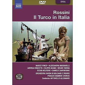 G. Rossini - Il Turco in Italia [DVD] USA importeren