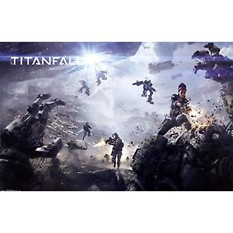 Titanfall - Invasion Poster Poster Print