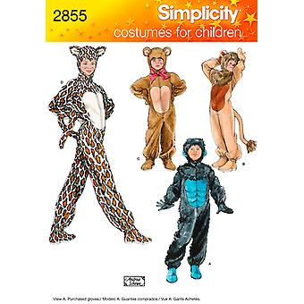 Simplicity Child, Boy And Girl Costumes Xs,S,M,L U02855a