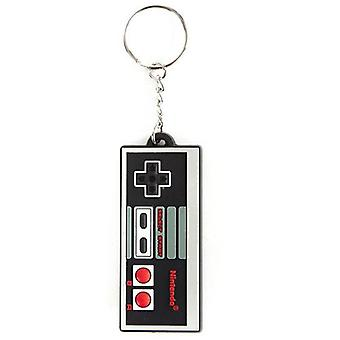 NINTENDO ORIGINAL NES Controller Rubber Keychain (KE141769NTN)