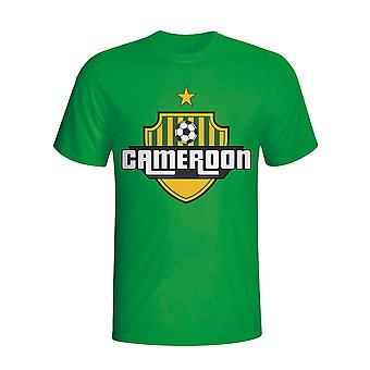 Cameroun land Logo T-shirt (grøn) - børn