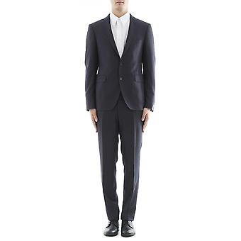Tagliatore men's 2FBR12B0108UIA054B3353 grey wool suit