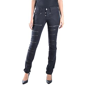 Neil Barrett women's MCBI220050O black cotton of jeans