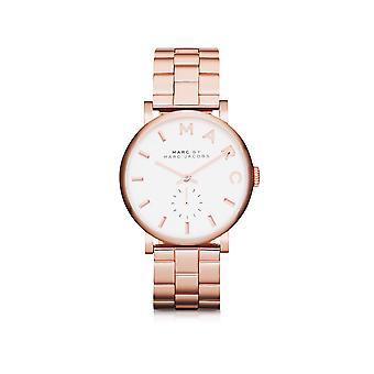Marc Jacobs women's MBM3244 rose steel watch