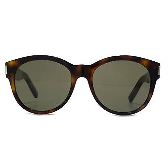 Saint Laurent SL 67 Sunglasses In Havana