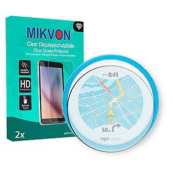 TomTom Vio Screen Protector - Mikvon Clear (Retail Package with accessories)
